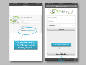 How to Add MyEyedro to your Home Screen