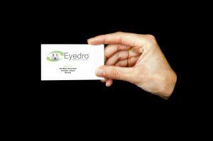 custom myeyedro business card