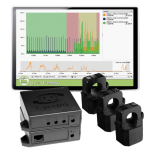 Eyedro Business Wireless Mesh Electricity Monitor for 3-Phase