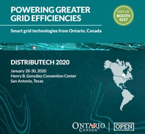 Distributech 2020 Ontario smart grid technologies