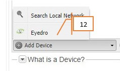Add Eyedro Device to Account