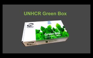UNHCR green box